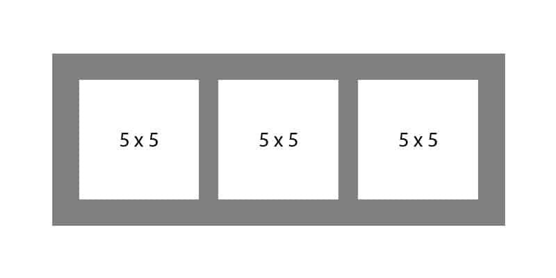 #02 EXMO 355 3-5 X 5 Openings