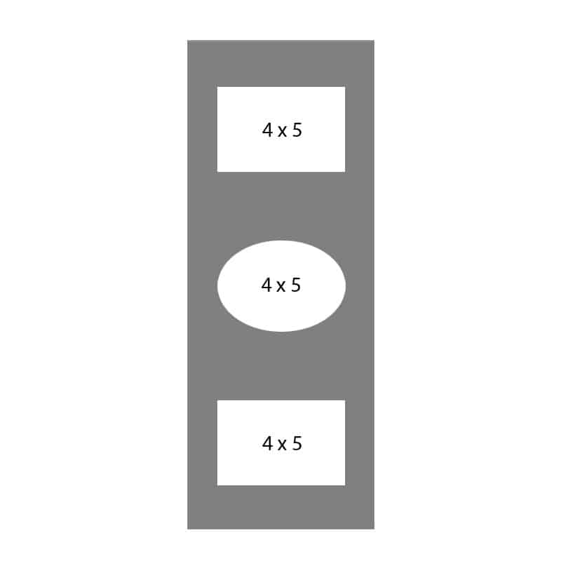 #07 EXMO 345C 3-4 X 5 Openings