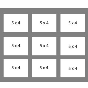 #124 EXMO 9-5x4 Openings