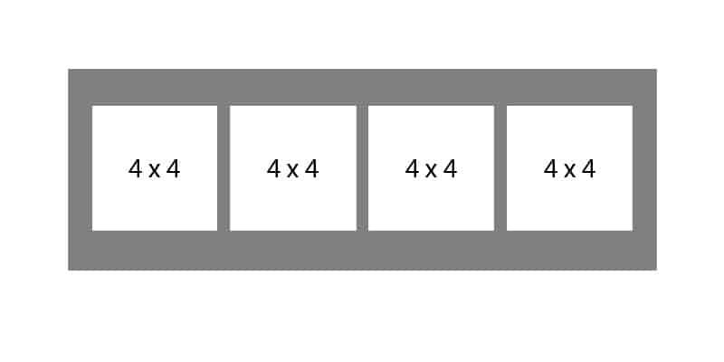 #136 EXMO 4-4x4 Openings
