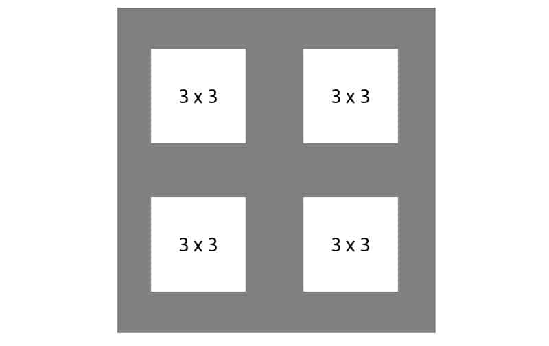 #138 EXMO 4-3x3 Openings