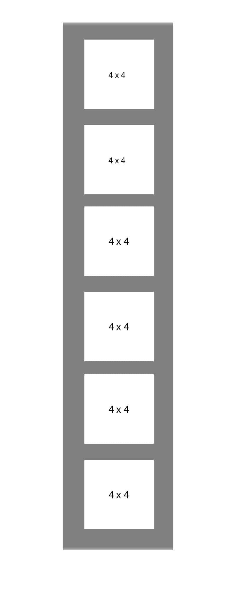 #143 EXMO 6-4x4 Openings