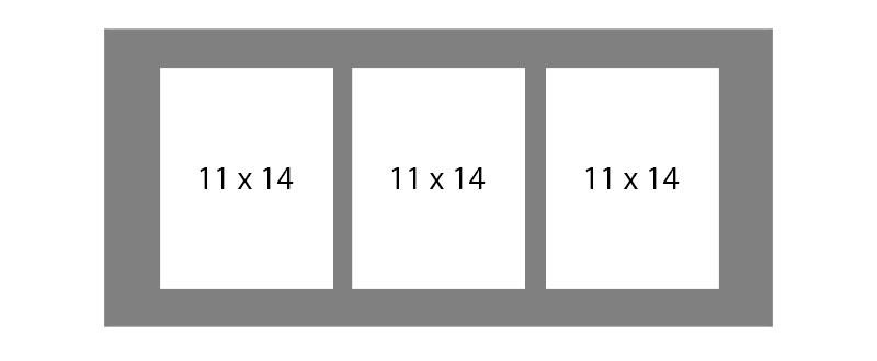 #144 EXMO 6-11x14 Openings