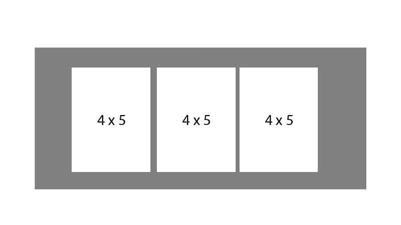#14 EXMO 345 3-4 X 5 Openings