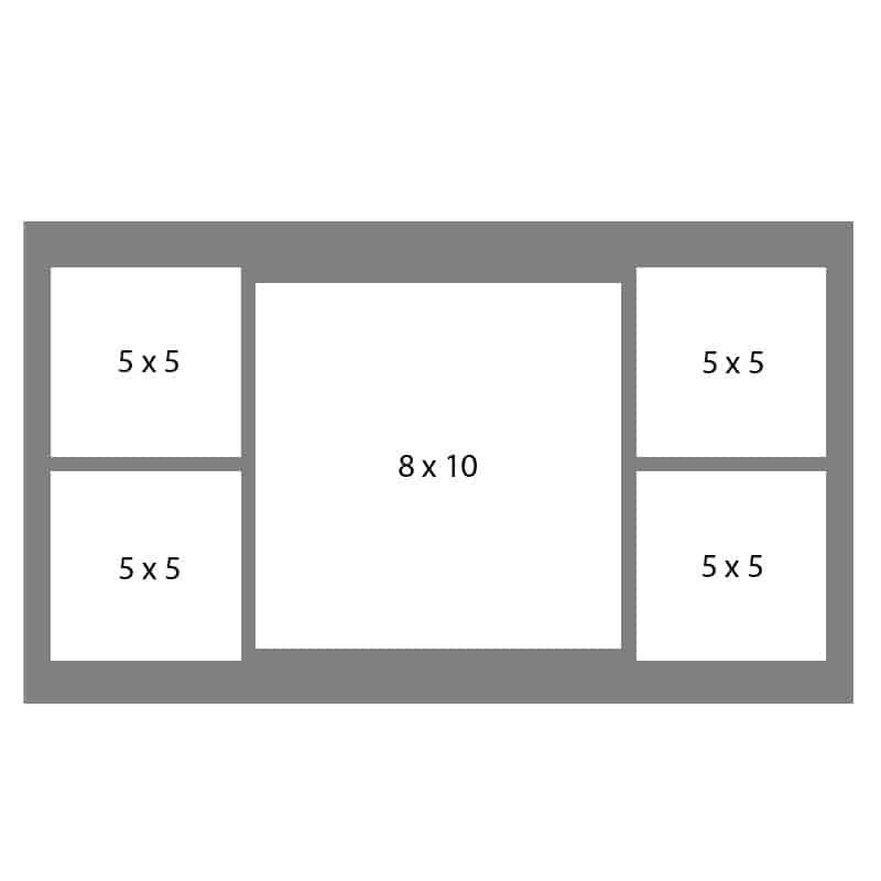 #19 EXMO 55S-1010S-55S 10 X 10, 4-5X5 Openings