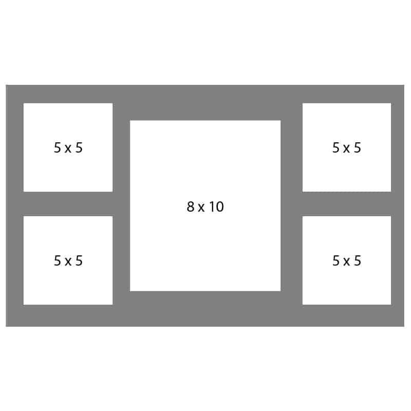 #49 EXMO 1-8 X 10 Opening w/ 4-5 X 5 Openings