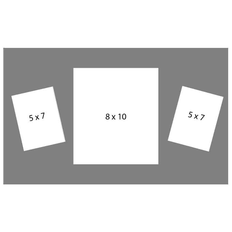 #51 EXMO 1-8 X 10 Opening w/ 2-5 X 7 Openings