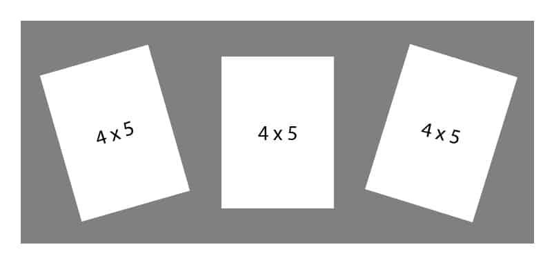 #55 EXMO 3-4 X 5 Openings