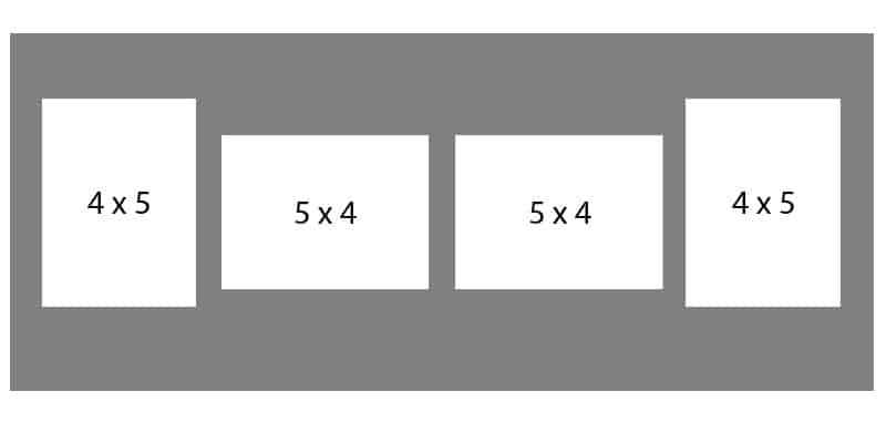 #56 EXMO 2-5 X 4 Openings w/ 2-4 X 5 Openings