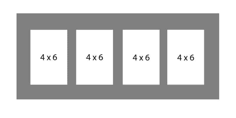 #60 EXMO 4-4 X 6 Openings