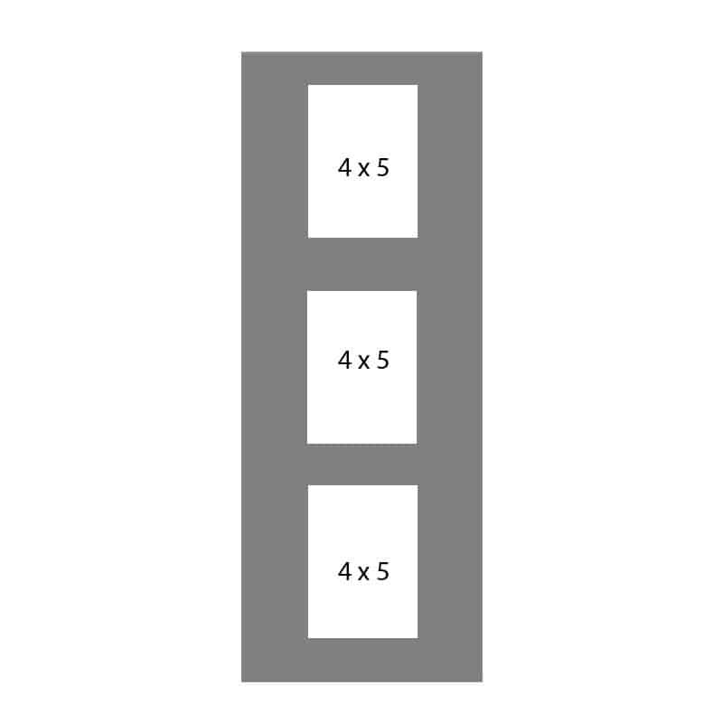 #63 EXMO 3-4 X 5 Openings