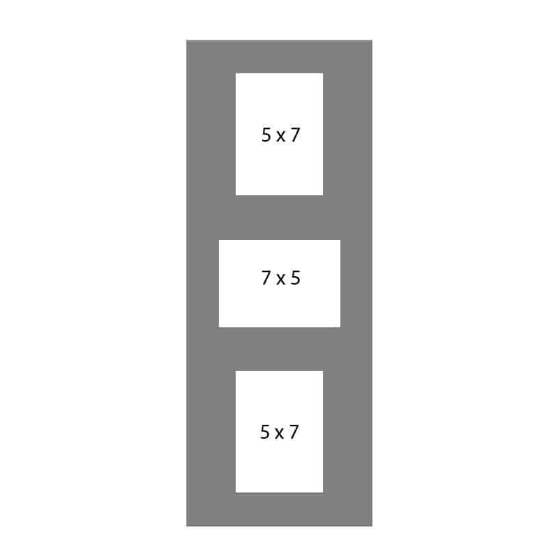 #64 EXMO 1-7 X 5 Opening w/ 2-5 X 7 Openings