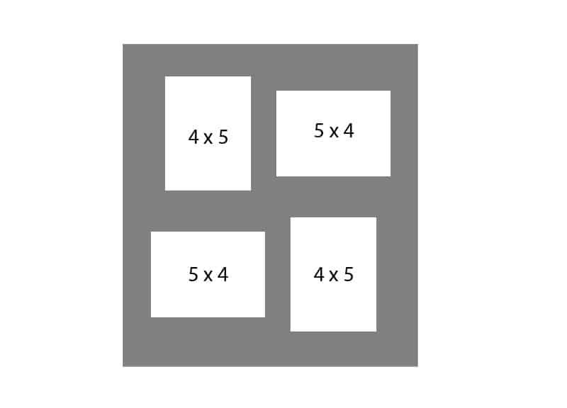 #66 EXMO 2-4 X 5 Openings w/ 2-5 X 4 Openings
