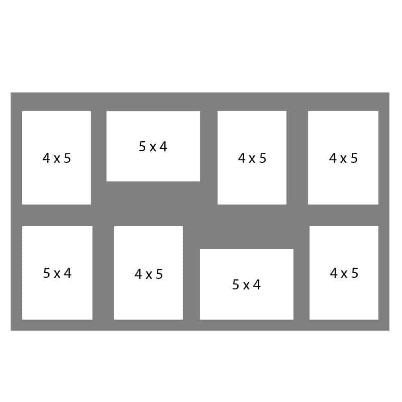 #68 EXMO 6-4 X 5 Openings w/ 2-5 X 4 Openings