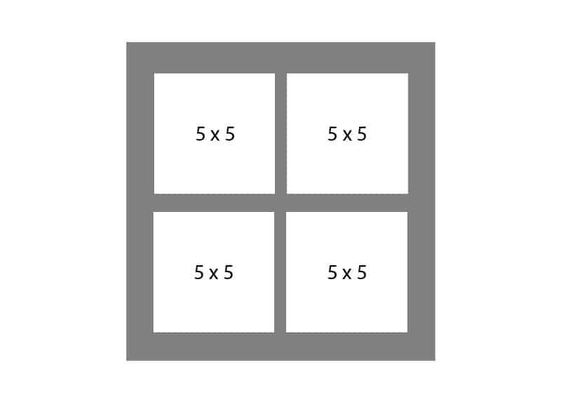 #71 EXMO 4-5 X 5 Openings
