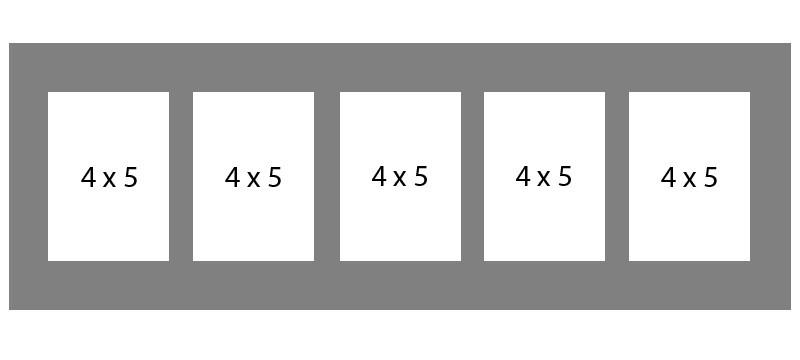#76 EXMO 5-4 X 5 Openings
