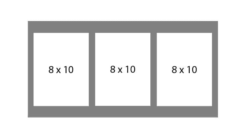 #79 EXMO 3-8 X 10 Openings