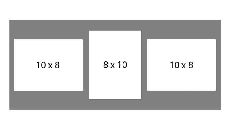 #80 EXMO 1-8 X 10 Opening w/ 2-10 X 8 Openings