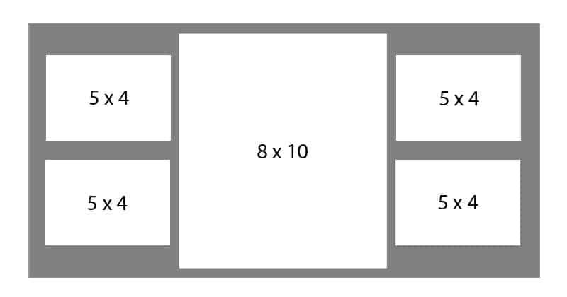 #81 EXMO 1-8 X 10 Opening w/ 4-5 X 4 Openings