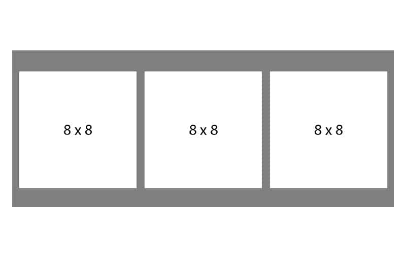 #83 EXMO 3-8 X 8 Openings