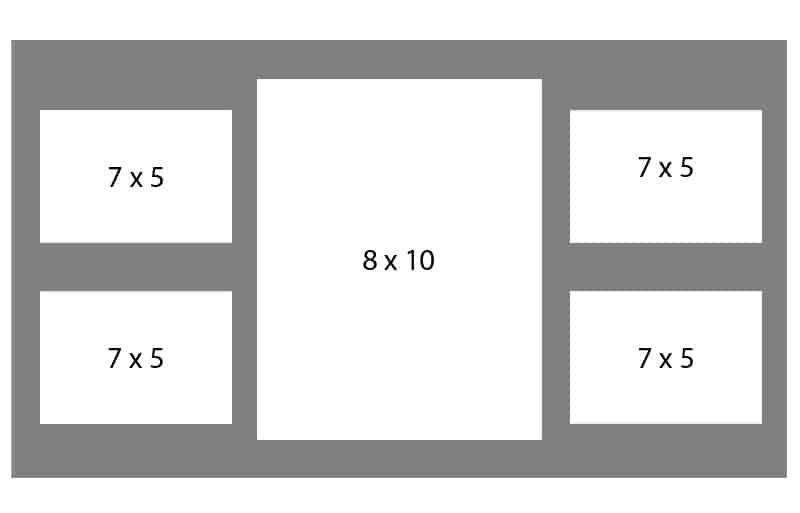 #84 EXMO 1-8 X 10 Opening w/ 4-7 X 5 Openings