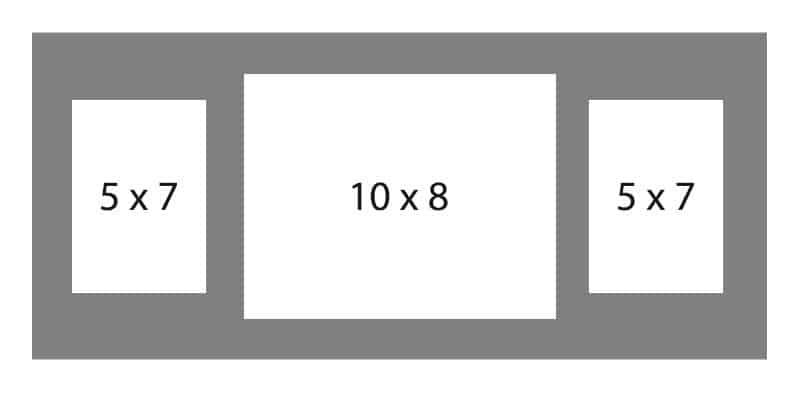 #86 EXMO 1-10 X 8 Opening w/ 2-5 X 7 Openings