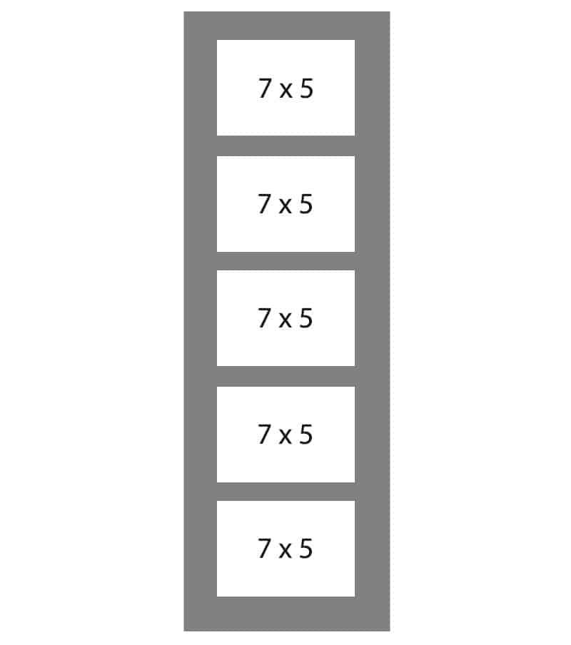 #89 EXMO 5-7 X 5 Openings
