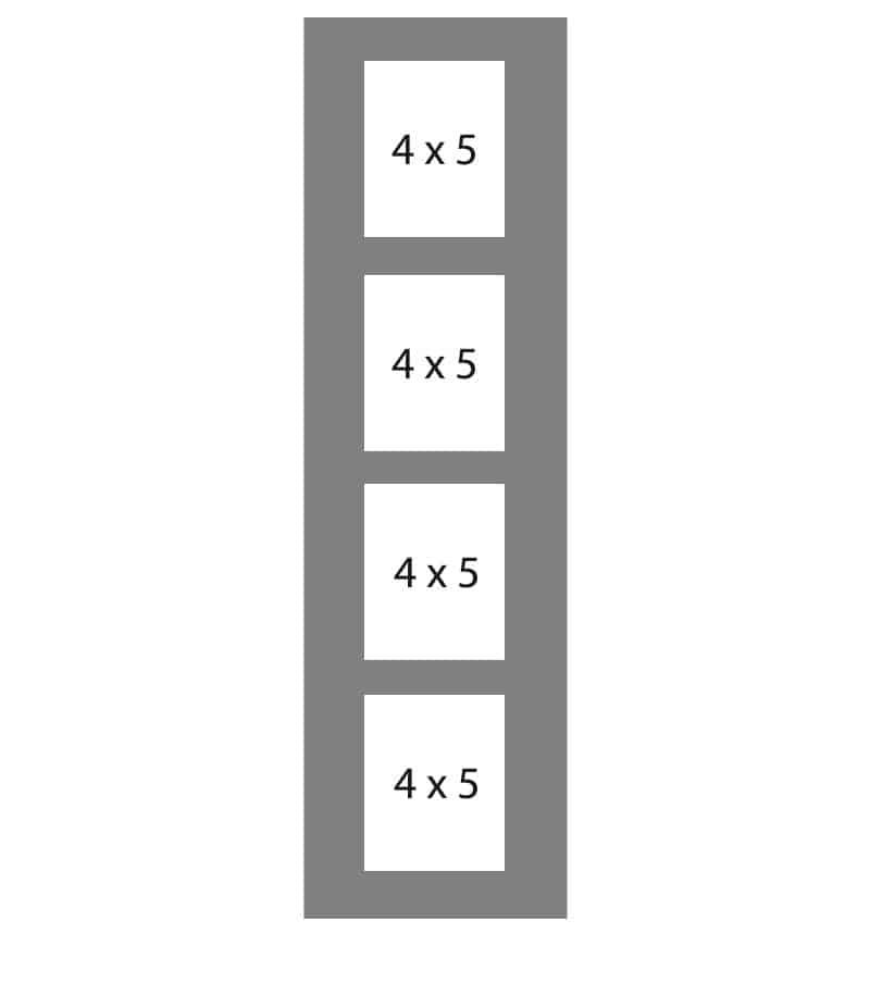 #95 EXMO 4-4 X 5 Openings
