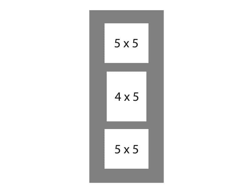#97 EXMO 1-5 X 4 Opening w/ 2-5 X 5 Openings