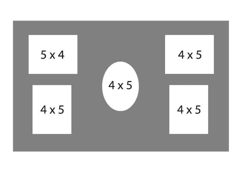 #98 EXMO 3-4 X 5 Openings w/ 2-5 X 4 Openings